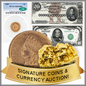 Day 3: BK Auctions Rare Coin & Currency Event